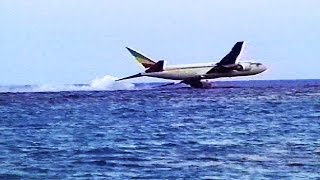 Hijacked Plane Disaster - Water Crash Landing