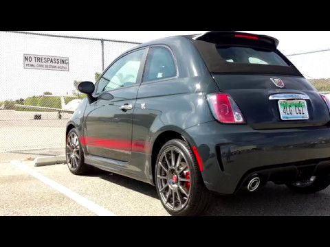 Fiat 500 Abarth Review: Top Down, Turbocharged Terror