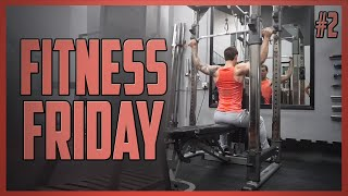 Youtubable's Fitness Friday   Shoulders and Back #2