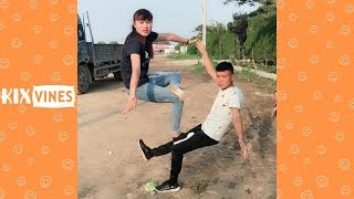 Funny videos 2018 ✦ Funny pranks try not to laugh challenge P13