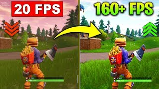 How to Get MORE FPS on Fortnite Season 6 - Increase Performance BOOST, FPS, LAG, CRASH FIX PART 4