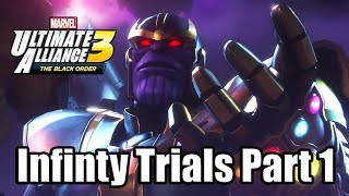 Marvel Ultimate Alliance 3: The Black Order - Infinity Trials Gameplay Walkthrough Part 1