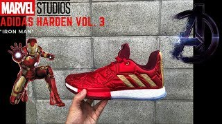 "Adidas Harden Vol. 3 ""Iron Man"""