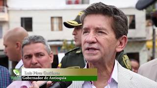 Gobernador de Antioquia se comprometió con recursos para varias obras en Granada