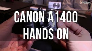 Canon Powershot A1400 hands on preview: compact digital camera