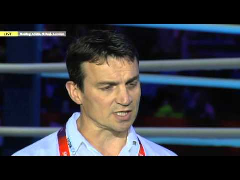 Chris Lloyd Ringside Interview with Richie Woodhall