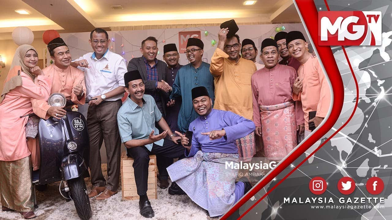 TERKINI : MERIAH!!! 'Raikan Lebaran' Rumah Terbuka Malaysia Gazette 2019