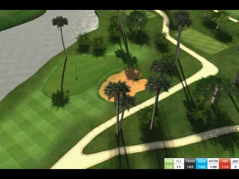 Angkor Golf Resort 3D hole per hole - Golf in Cambodia