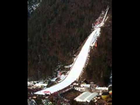 Skijaski skokovi Planica 1985, jubilej, Ognjen Naglic, H. Macanovic, Mladen Delic, Fredi Kramer