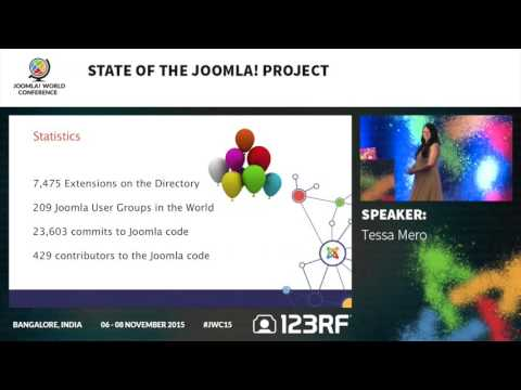JWC15 - State of the Joomla! Project
