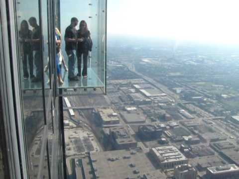 Sears Tower Chicago - glass box - YouTube