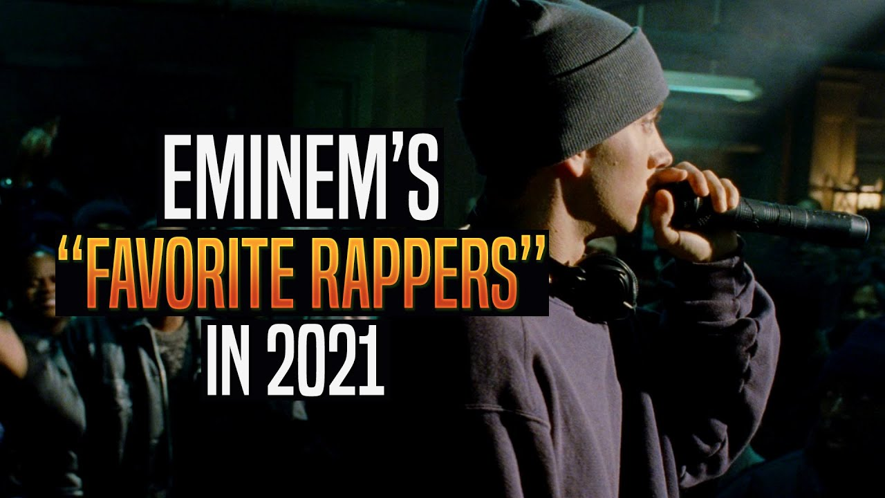 [AI Voice] Eminem's favorite rappers in 2021