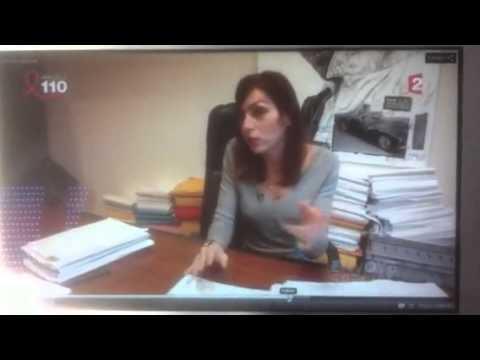 servane CROSNIER avocat Paris Envoyé spécial Prison Bracelet