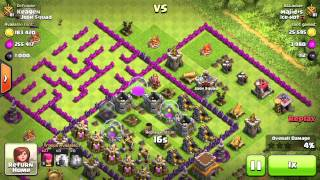 Clash of Clans - Attacking the Maze Base: Ep. 3