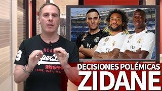 7 decisiones políticamente incorrectas de Zidane en el Real Madrid 2019-2020 | Diario AS