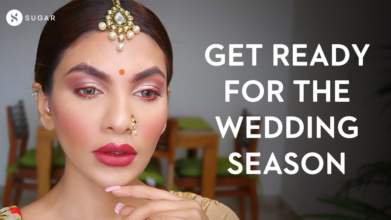 Get Ready For Navratri | Indian Festive Makeup Tutorial | Long-Lasting Garba look | SUGAR Cosmetics