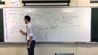 Solving Inequalities w/ Rational & Linear Functions (2 of 3: Multiplying by the Square)