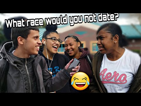WHAT RACE WOULD YOU NOT DATE AND WHY? | FUNNY PUBLIC INTERVIEW