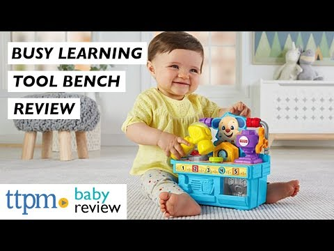 Busy Learning Tool Bench Baby Toy Review From Fisher-Price