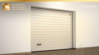 Новая видеоинструкция: монтаж гаражных ворот Prestige с пружинами растяжения