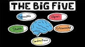 The Big 5 Personality Traits - YouTube