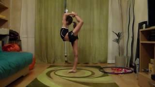Полина Комова 2008гр. Разминка по художественной гимнастике.(июнь 2015г. Полина решила провести разминку для гимнасток., 2016-01-31T13:52:45.000Z)