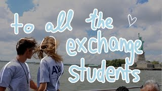 how is it to be an exchange student? ♥︎ jackie alice's diary entry