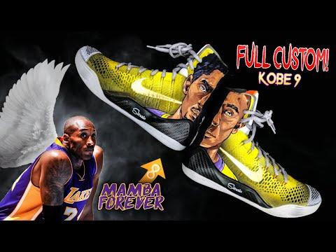 MAMBA FOREVER Full Custom Kobe 9 Tribute | By Sierato
