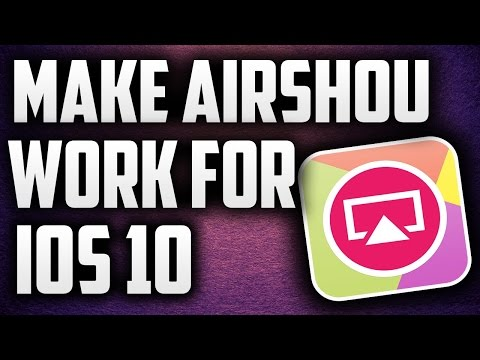AIRSHOU WORKING FOR IOS 10 (UPDATED) 100%WORKING