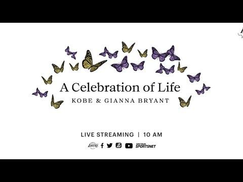 A Celebration of Life - Kobe and Gianna Bryant