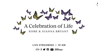A Celebration of Life - Kobe and Gianna Bryant