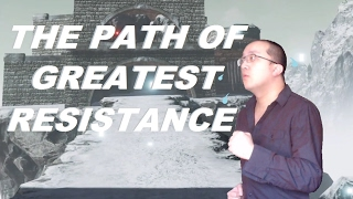 This VR Game Makes You Jog - The Path Of Greatest Resistance (Vive/Oculus Touch)