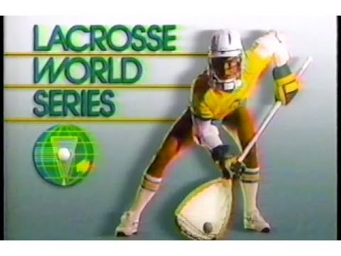 Old SKOOL LAX: USA vs. Canada World championship Lacrosse  1990