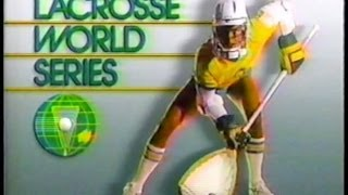 Old SKOOL LAX: USA vs. Canada World championship Lacrosse  1990