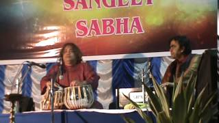 Tabla Solo by Sri Hindole Majumdar in Barrackpore Sangeet Sabha Kolkata India