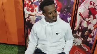 Travis Etienne says all the restaurants in New Orleans are good