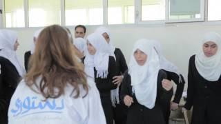 Destoori - Rehlat Watan Visits Girls' Middle School in Benghazi, Libya