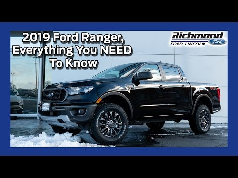 2019 Ford Ranger Review: Analyzing All The Features