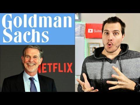 Goldman Sachs & Netflix Report Earnings!