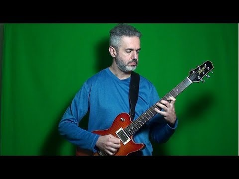 BACH PRELUDE NO  1 (BWV 846) FROM THE WELL-TEMPERED CLAVIER electric guitar  MARCELLO ZAPPATORE