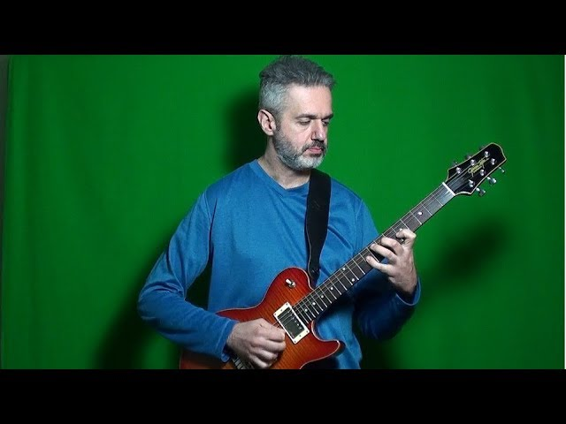 BACH PRELUDE NO. 1 (BWV 846) FROM THE WELL-TEMPERED CLAVIER electric guitar MARCELLO ZAPPATORE