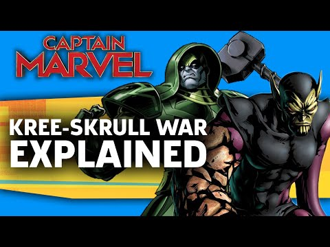 Captain Marvel: The Kree-Skrull War Explained