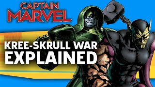 Captain Marvel: The Kree-Skrull War Explained