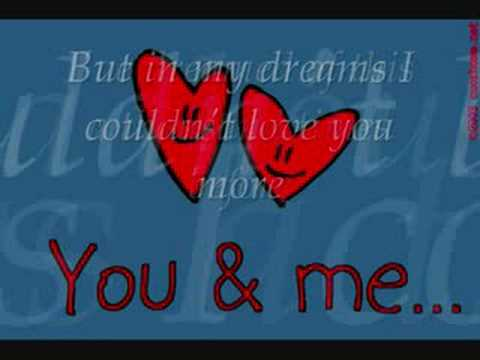 My Valentine Martina Mcbride Jim Brickman Youtube