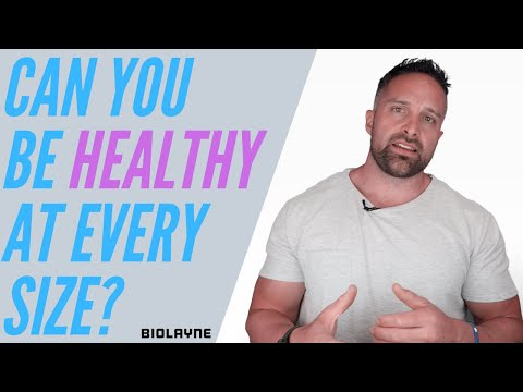 Can you be healthy at every size?