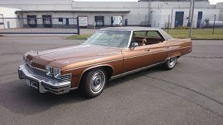 Driving a 1974 Buick Electra Limited/ onboard footage