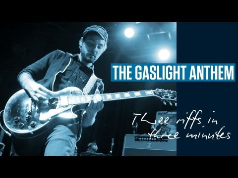 The Gaslight Anthem Guitar Lesson: Three Riffs In Three Minutes (TG213)
