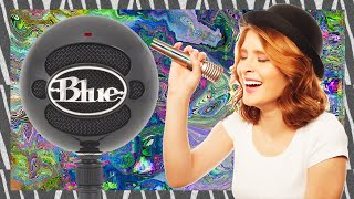 Blue Snowball iCE - Unboxing and Review + Mic Test - Best BUDGET YOUTUBER MICROPHONE