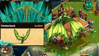 Timberjack max level 124||Dragons rise of Berk
