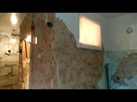 Как сбить старую штукатурку со стен